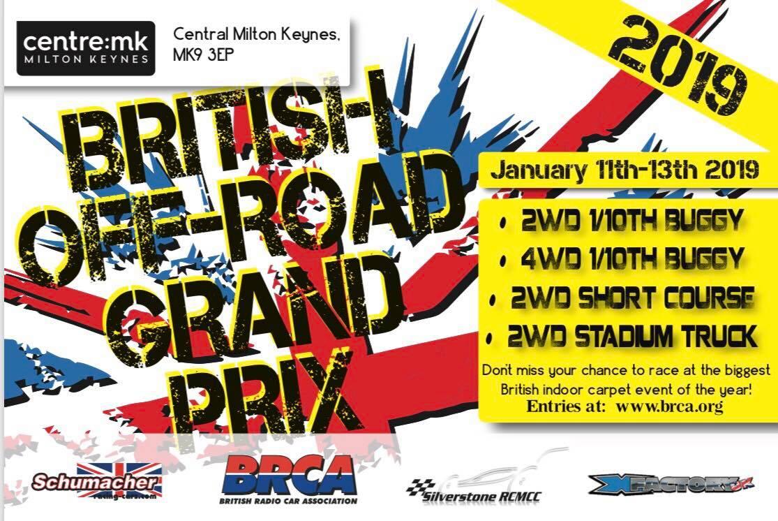 Centre MK British Off Road GP